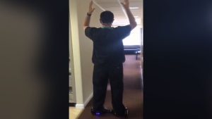 U.S. 'hoverboard' dentist on trial