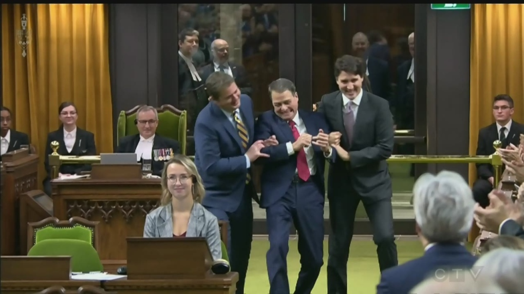 Anthony Rota elected as the new House of Commons speaker