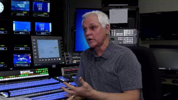Former CTV Saskatoon graphics guru Douglas Podiluk explains changes in technology.