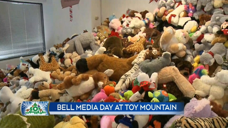 Bell Media Day at Toy Mountain, pt. 2