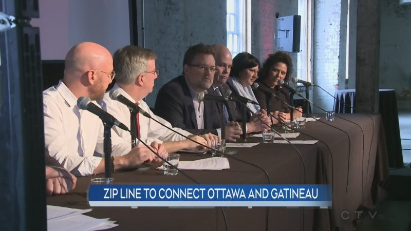 Zip line to connect Ottawa and Gatineau