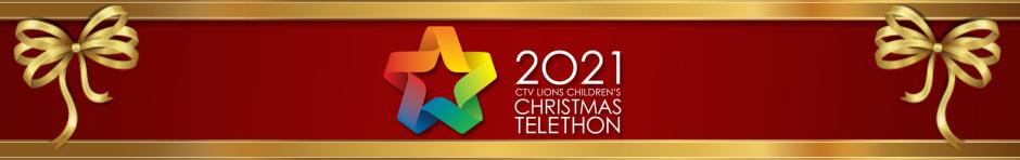 CTV Lion's Children's Christmas Telethon header