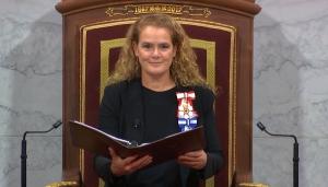 Julie Payette throne speech