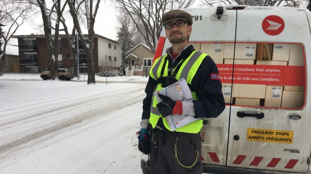 'The whole world is my karaoke machine': Singing mailman brings smiles to Edmonton streets