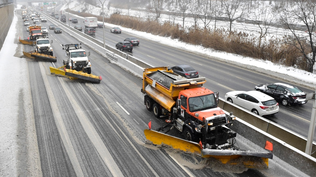 Snow overnight could lead to messy commute in Toronto