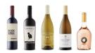 Sumac Ridge Estate Winery Black Sage Vineyard Cabernet Sauvignon 2017, Cannonball Cabernet Sauvignon 2017, Marchesi de Frescobaldi Castello di Pomino Pomino Bianco 2017, Dog Point Sauvignon Blanc 2018, Miraval Rosé 2018