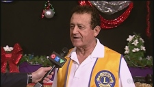 Sam Khoury, chair of CTV Lions Children's Christmas telethon. December 5, 2019 (CTV News Northern Ontario)