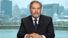 Mulcair reacts to 2019 throne speech