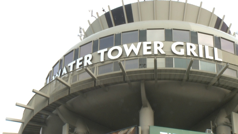 The Water Tower was completed in 1959 and served as an actual water tower until 1999. It was saved from demolition and a restaurant first opened at the site in 2004.