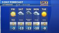 Keep a shovel handy. Dory Rossiter has the forecast.