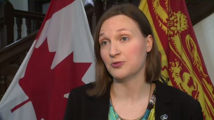 """A constituent came to me recently, she wanted a flu shot but she couldn't afford it. She's living pay cheque to pay cheque. She felt this wasn't fair and I agree with her,"" MLA Megan Mitton says."