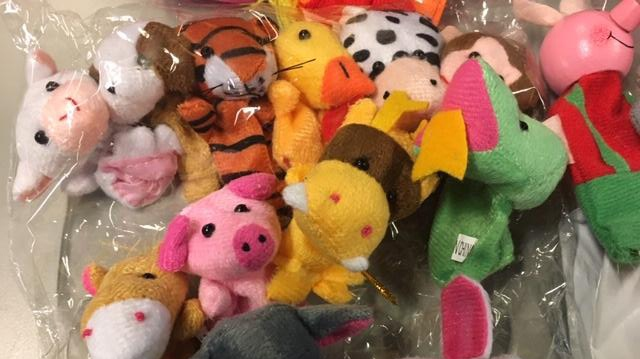 Toy finger puppets