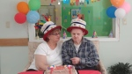 Linda Aubert poses with her brother Ronnald at the Croydon Villa group home in Surrey, B.C. in this submitted photo.