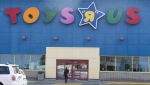 "A Toys ""R"" Us store is seen Tuesday, September 19, 2017 in Montreal. THE CANADIAN PRESS/Paul Chiasson"