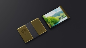 The company claims it has the most durable screen for a phone on the market. (Escobar Inc./CNN)
