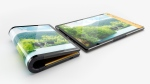 Escobar Inc. has released a foldable smartphone that runs Android. (Escobar Inc./CNN)