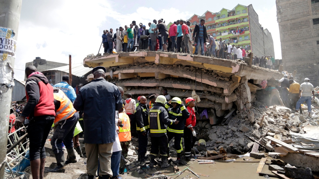 kenya building collapse