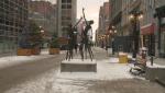 A snowy Sparks Street on Thursday, Dec. 5, 2019.