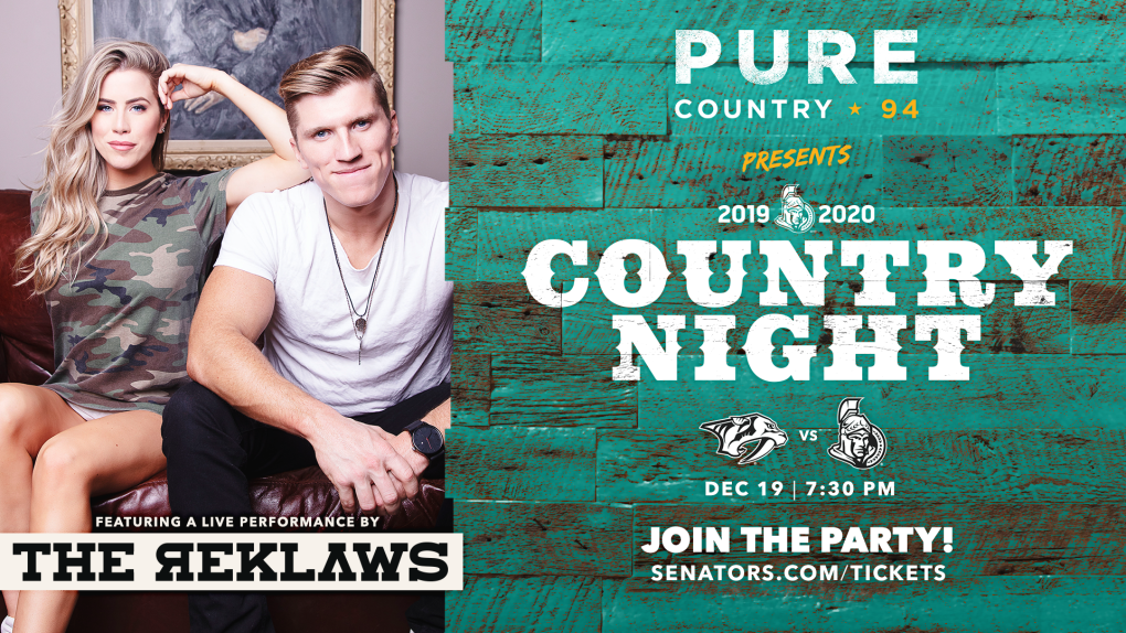 Country Night at the Canadian Tire Centre