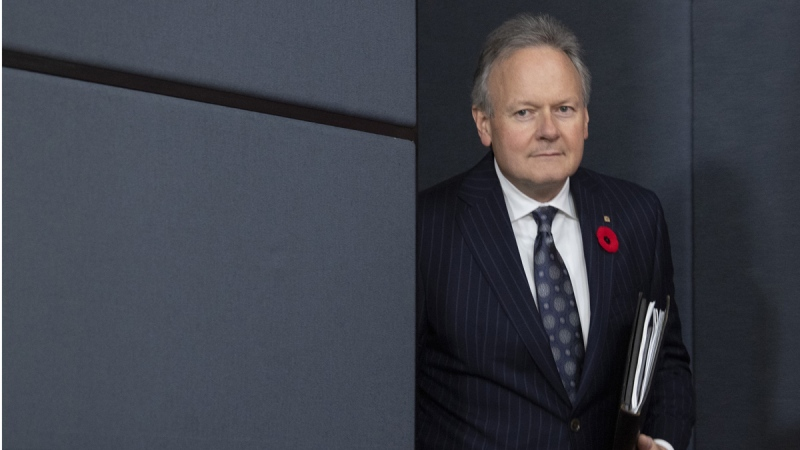 Bank of Canada Governor Stephen Poloz in Ottawa, on October 30, 2019. (Adrian Wyld / THE CANADIAN PRESS)