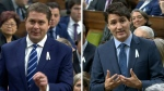 Trudeau and Scheer spar in question period