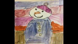 Paislee Armstrong, 5 years old, Senior Kindergarten, Stonecrest Elementary School