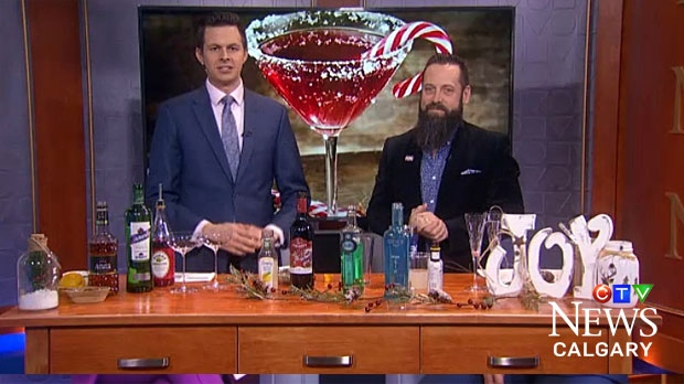 Sommelier Mike Roberts will show us how to make some simple but delicious festive cocktails