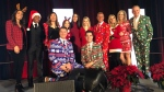 The Christmas Cheer breakfast raised more than $106,000 Friday morning at the Shaw Centre.