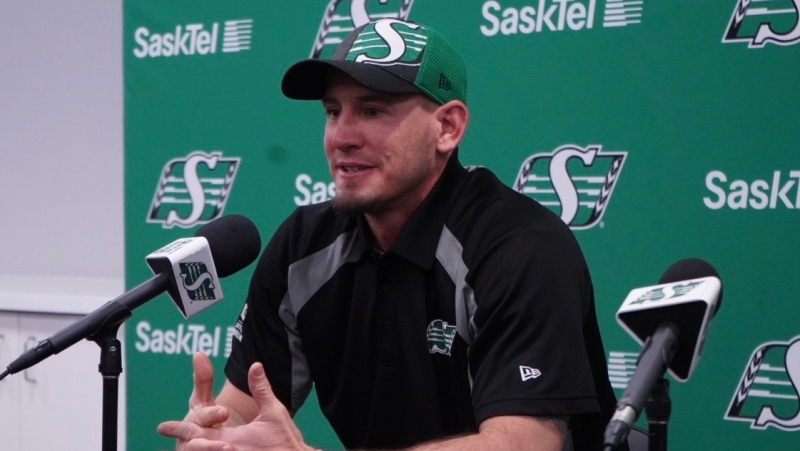 Jason Maas is joining the Roughriders as offensive coordinator (Marc Smith / CTV News Regina)