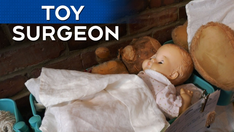 Meet Montreal's toy surgeon