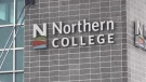 Northern College in Timmins announced Thursday the temporary layoff of 42 part-time workers. (File)