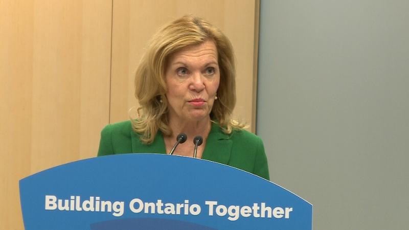 Minister Christine Elliott