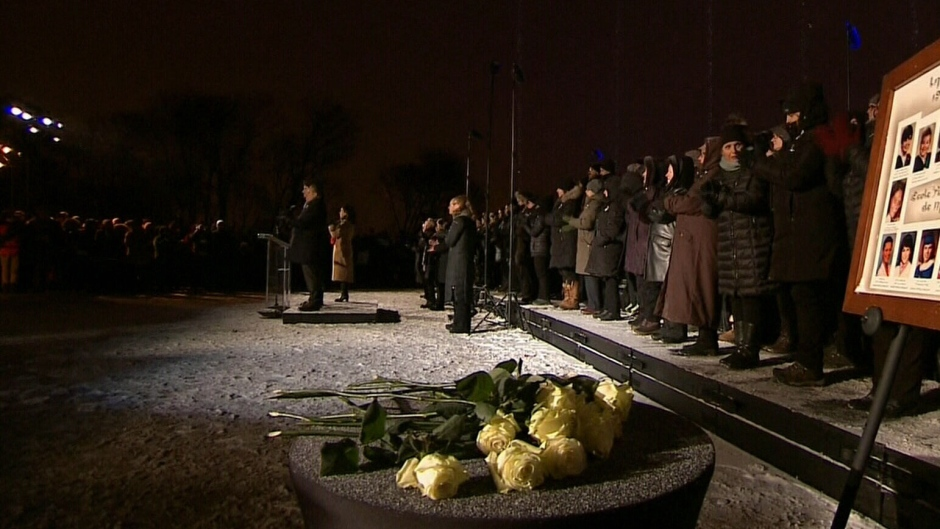 A ceremony to remember Polytechnique victims