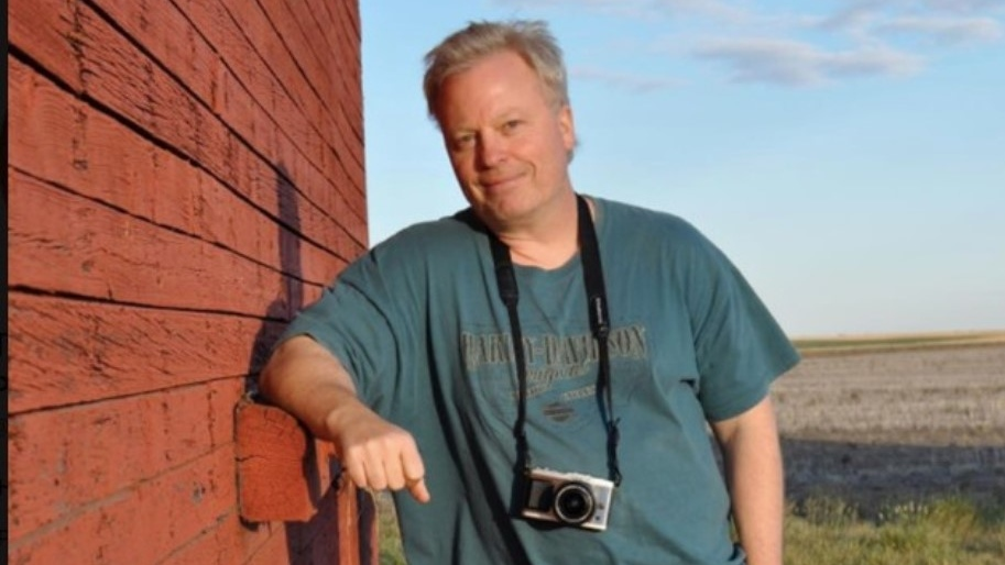 Photographer Tye Carnelli died after falling down a snow-covered well during the day. (Medicine Hat Photography Club/Facebook)