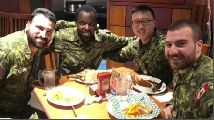 Canadian Forces members go viral