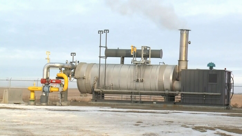 Chinook natural gas plant opens
