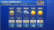 Snowy weekend weather ahead. Dory Rossiter has the forecast.