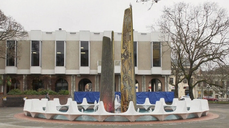 Massive Centennial Square light display delayed