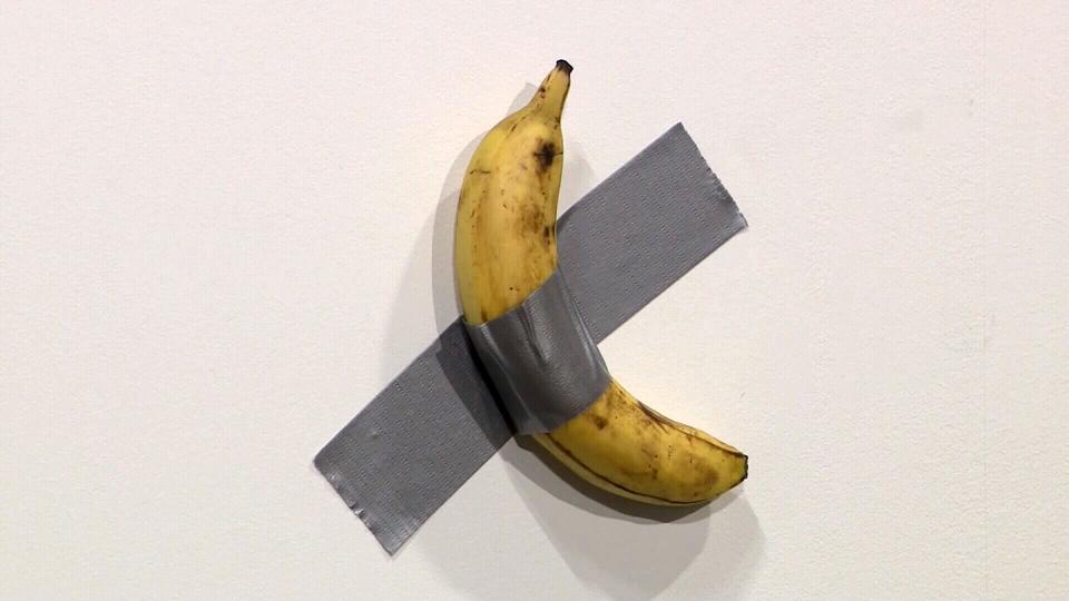 banana duct-taped
