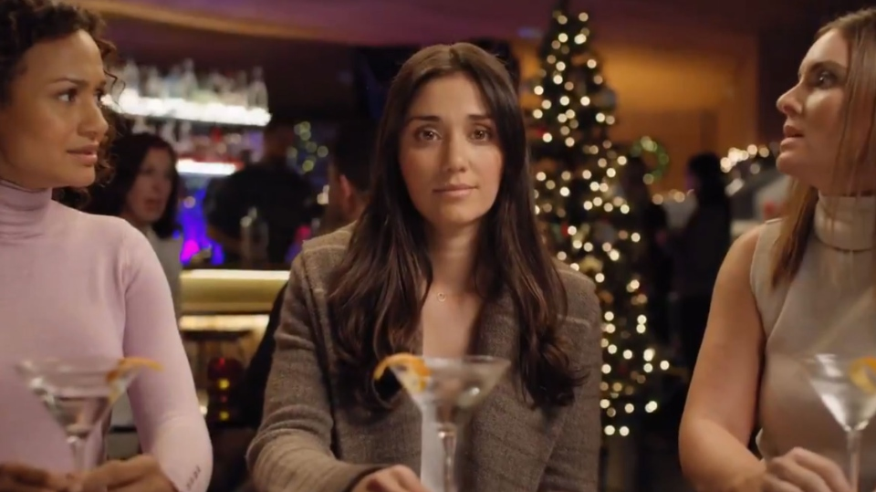 The actress featured in the Peloton commercial is the star of Ryan Reynolds' new gin ad.