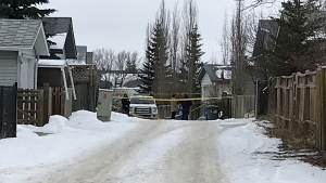 Cochrane RCMP were called to respond to a call at a home in the community Friday night.
