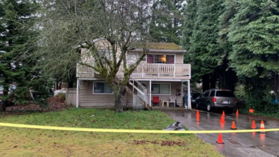 Surrey RCMP are investigating shots fired into a house on Dec. 7, 2019.