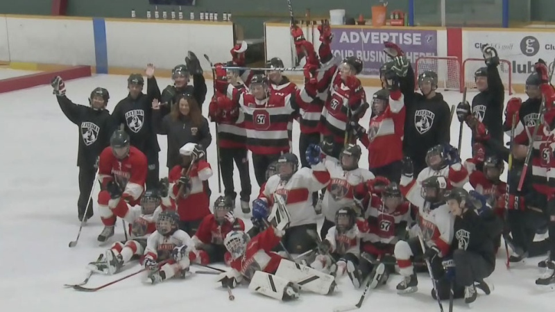 67s practice with special needs athletes