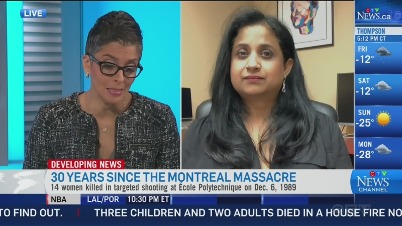 Deepa Kundar remembers Montreal Massacre