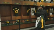 Eskimos host locker room sale