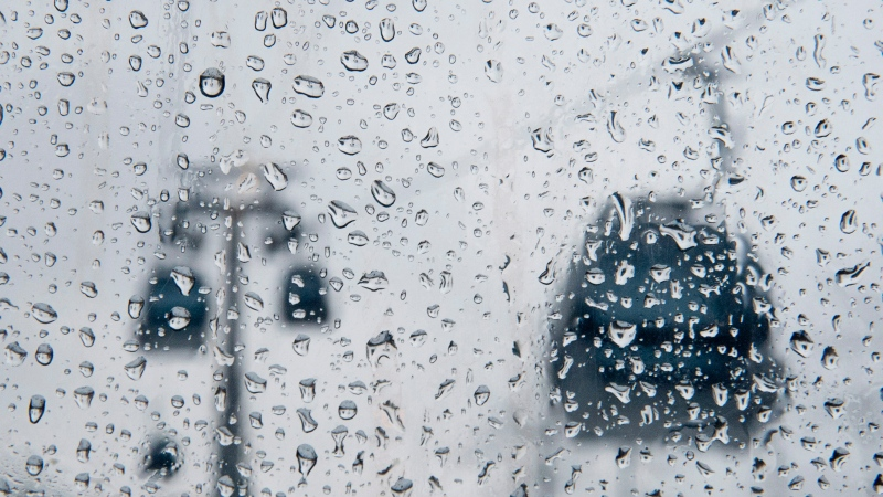 Environment Canada says rain and thunderstorms will continuing into the evening Tues., July 27, 2021. (FILE)