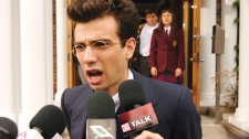 Jay Baruchel plays a teenager who thinks he is the reincarnation of Russian revolutionary Leon Trotsky in 'The Trotsky.'