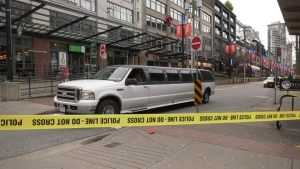 Four men are in hospital with stab wounds after an incident at 2:30 a.m. in Yaletown on Dec. 8, 2019.