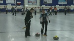 Curling Competition in Barrie