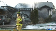 Edmonton house fire a 'challenge' to put out